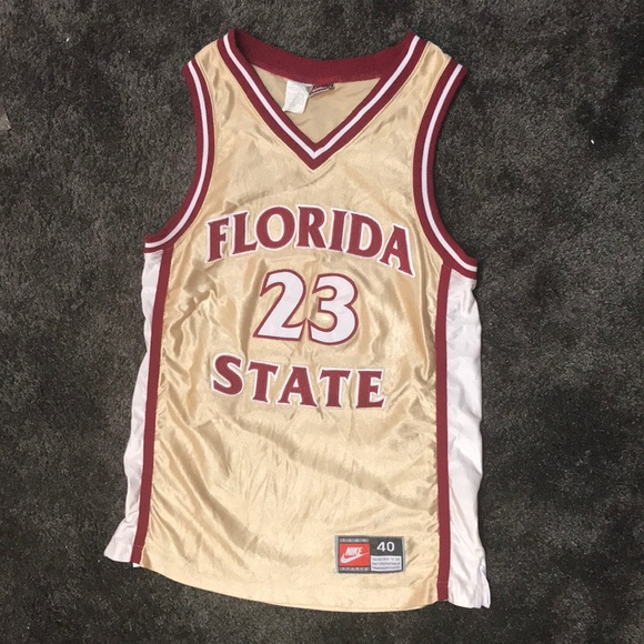 premium selection 35b46 a54c8 Nike FSU basketball jersey